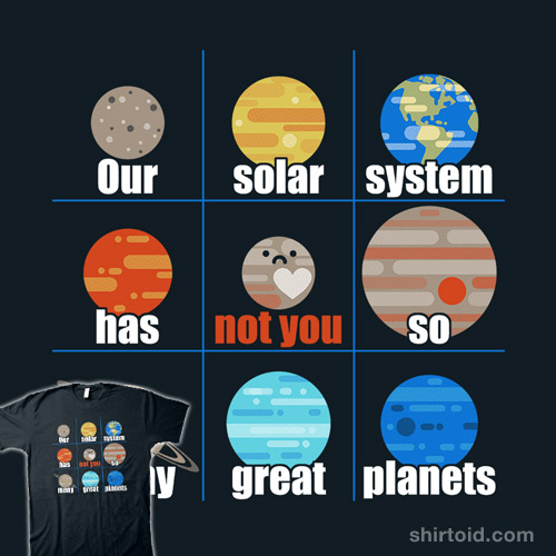 Not You, Pluto