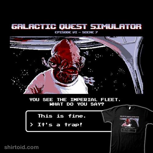 Galactic Quest Simulator