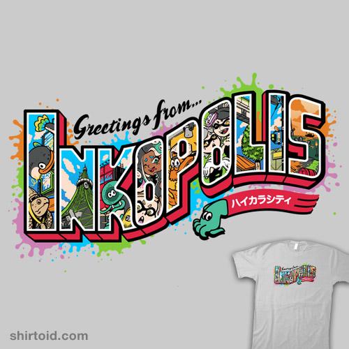 Greetings from Inkopolis