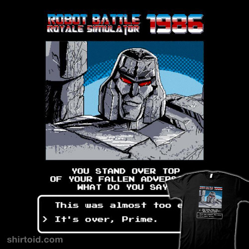 Robot Battle Royale Simulator 1986
