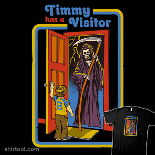 Timmy Has A Visitor