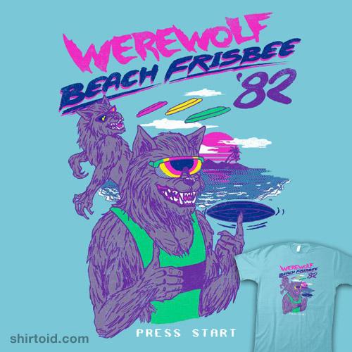 Werewolf Beach Frisbee