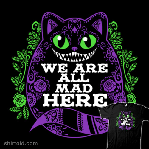 Calavera Cheshire Cat