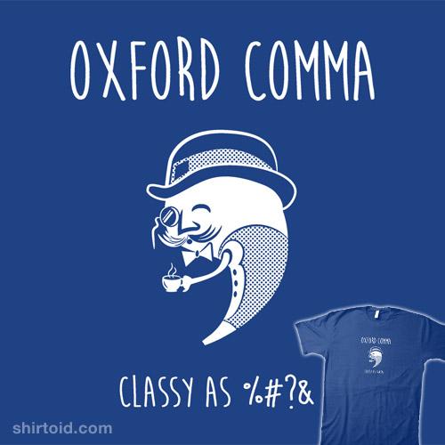 Classy Comma