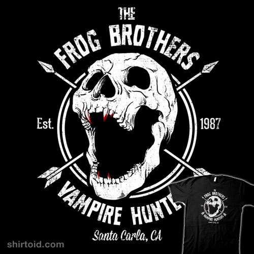 Frog Bros Vampire Hunters