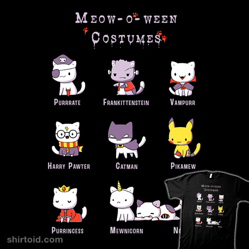 Meow-o-ween Costumes