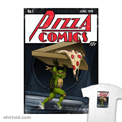 Pizza Comics – Featuring Michelangelo