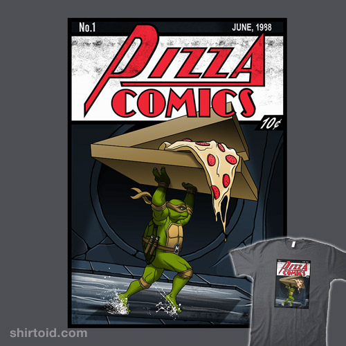 Pizza Comics – Featuring Michelangelo