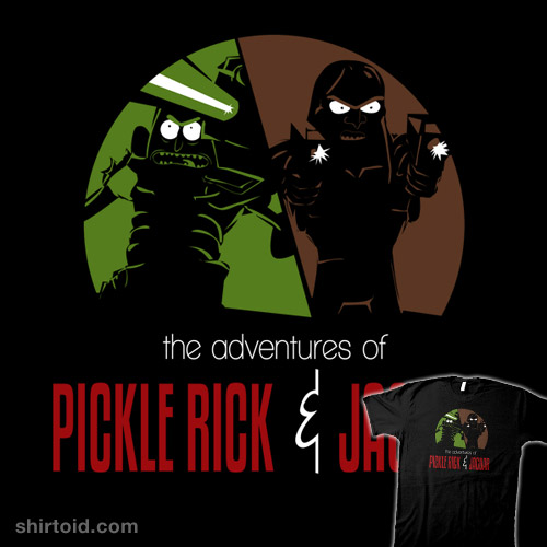 The Adventures of Pickle Rick & Jaguar