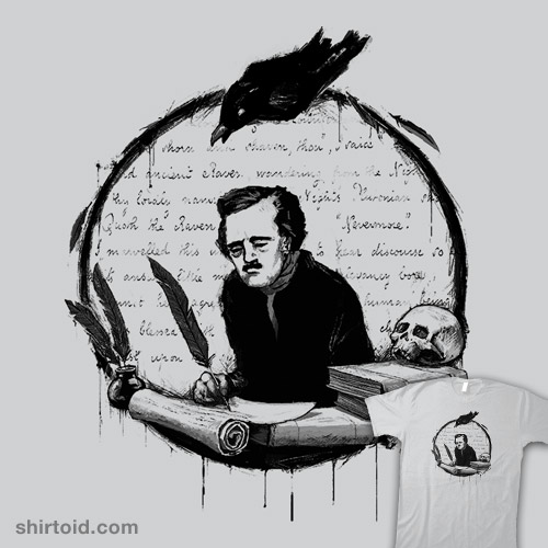 A Raven and His Writer