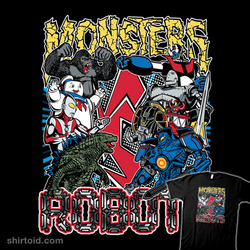 Monsters vs. Robots