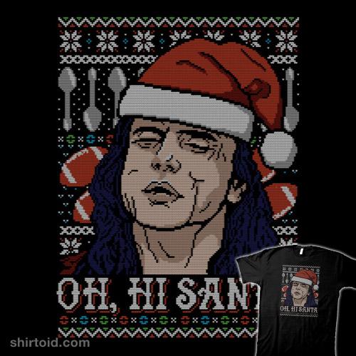 Oh, Hi Santa