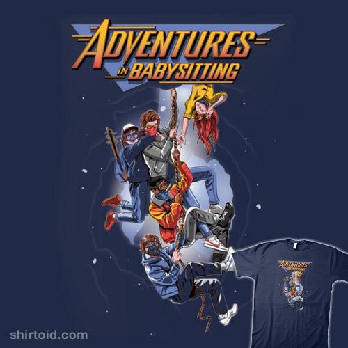 Steve's Adventures in Babysitting