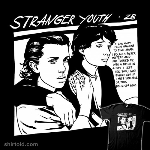 Stranger Youth (dark shirt)