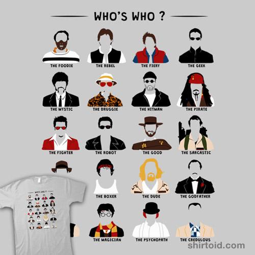 Who's Who? (Men)
