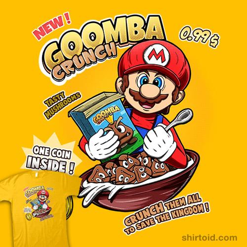 Goomba Crunch