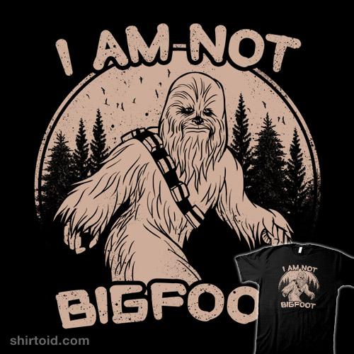 I Am Not Bigfoot