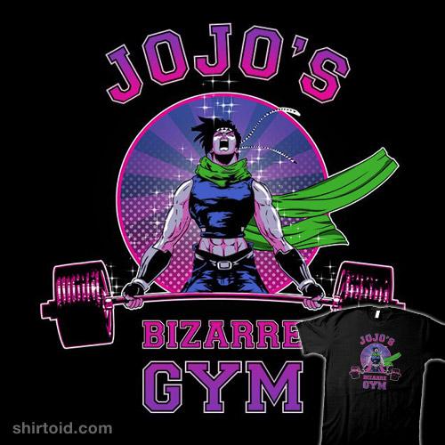 Jojo's Bizarre Gym