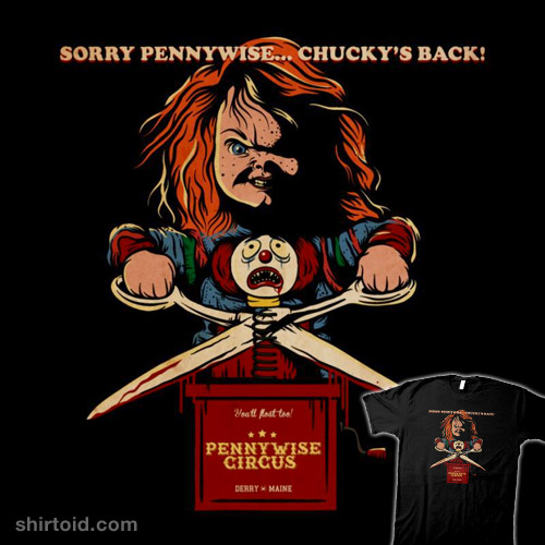 Sorry Pennywise… Chucky's Back!