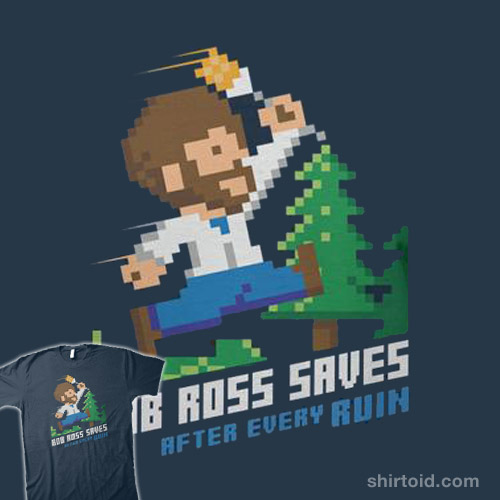 Bob Ross Saves After Every Ruin
