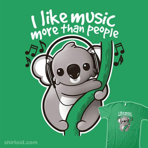 Koala Likes Music