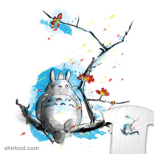 Sumi-e Totoro