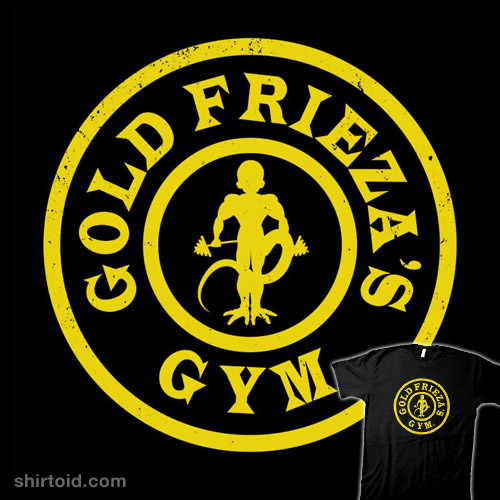 Gold Frieza's Gym