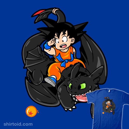 How to Train Your Dragon Ball