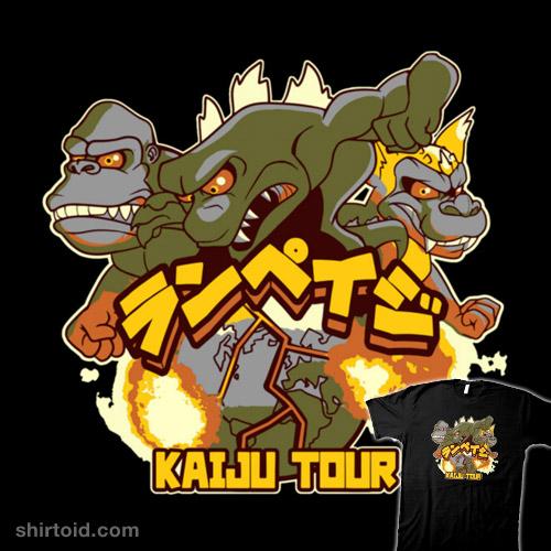 Kaiju Tour