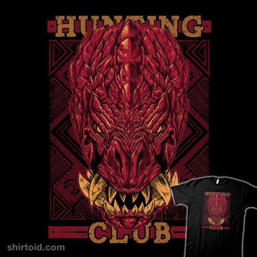 Hunting Club Odogaron Shirtoid
