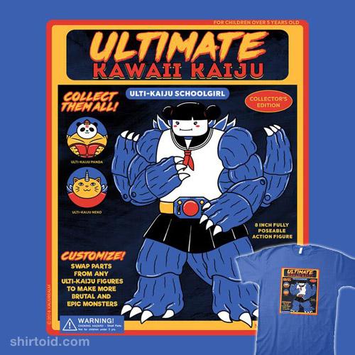 Ultimate Kaiju Schoolgirl