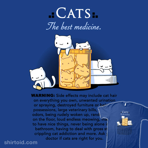 Cats are the Best Medicine