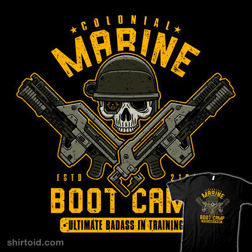 Colonial Marines Boot Camp
