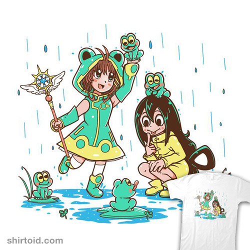 Frog Rainy Day