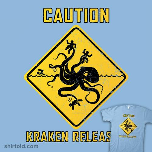 CAUTION: KRAKEN RELEASED