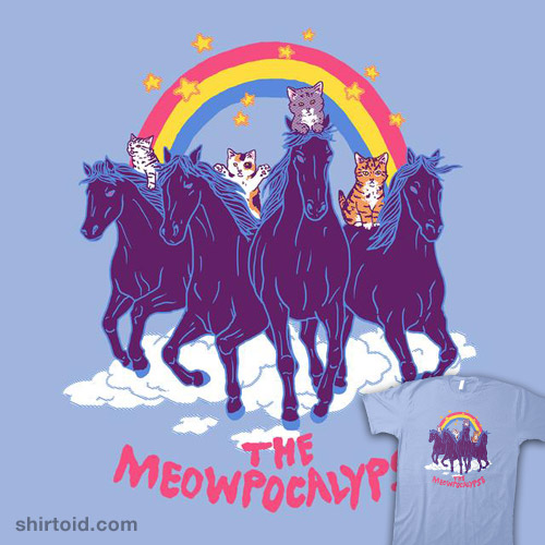 Four Horsemittens of the Meowpocalypse