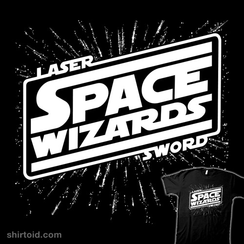 LASER SWORD SPACE WIZARDS