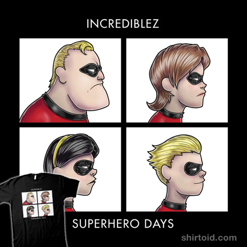 INCREDIBLEZ – SUPERHERO DAYS