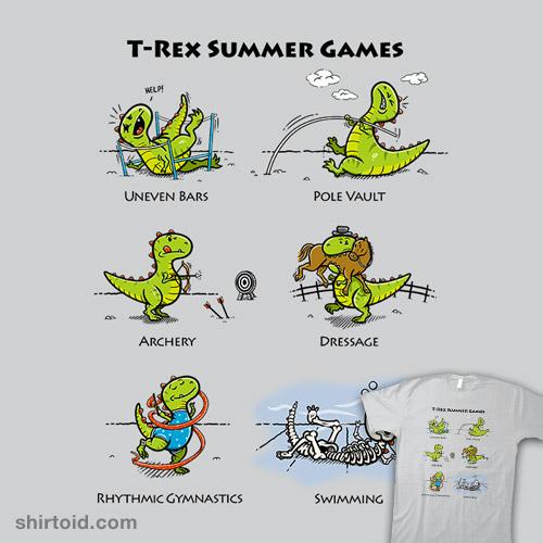 T-Rex Summer Games