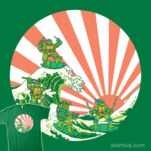 The Great Wave Off Cowabunga