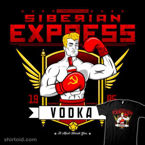 Siberian Express Vodka