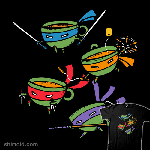 Teenage Mutant Ninja Teacups