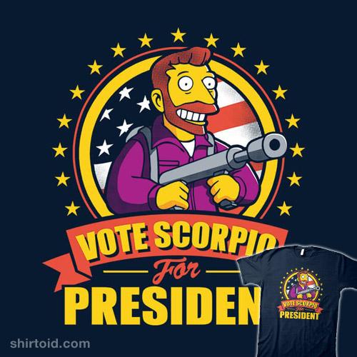 Vote Scorpio