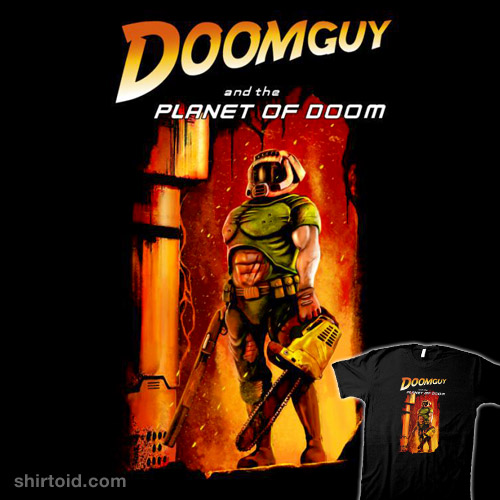 Doomguy and the Planet of Doom