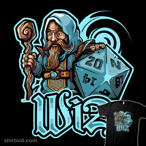 Mini RPG Wizard