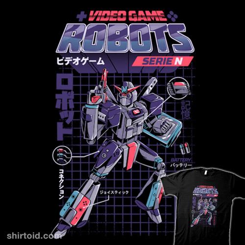 Video Game Robots – Series N