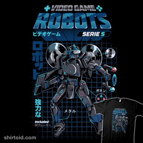 Video Game Robots – Series S