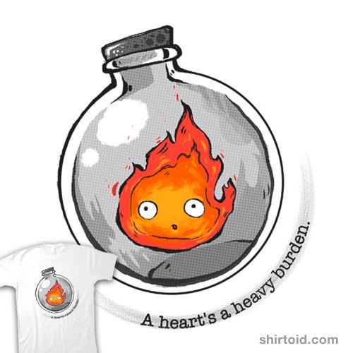 A heart is a heavy burden.