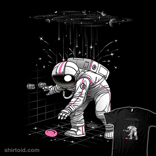An Astronaut's Shower