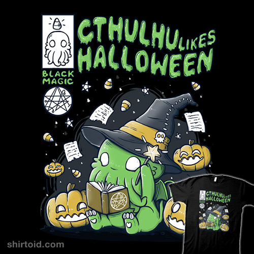 Cthulhu Likes Halloween